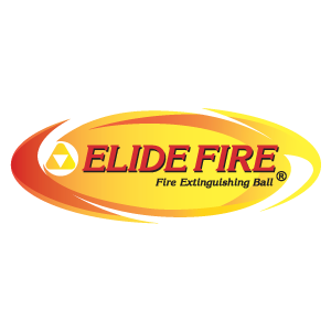 Elide Fire® Fire Extinguishing Ball Logo