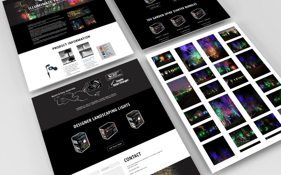 Floraglow - Website Design